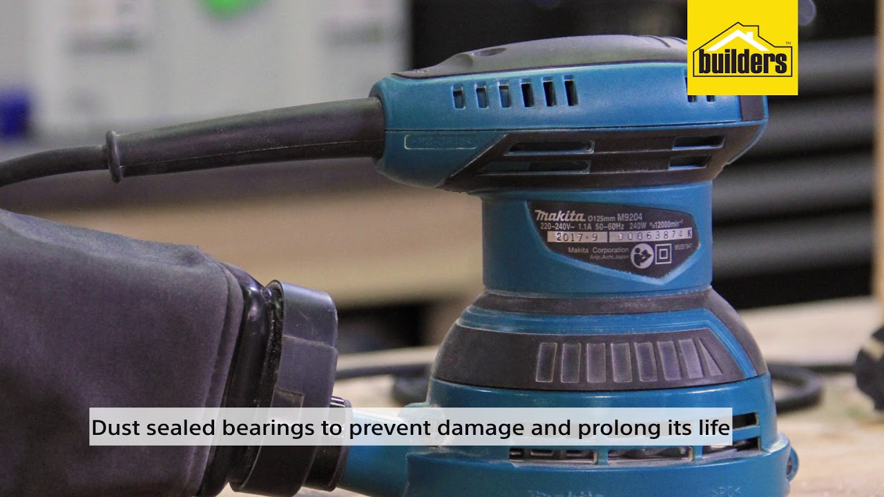 The Makita random orbital sander is a best product for your woodworking projects